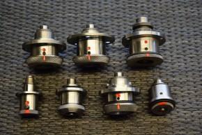 14-Spulenträger-Bajonettverschlüsse